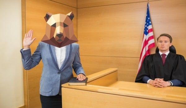 Bear witness to what happens in the court!