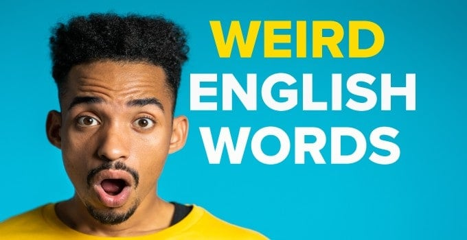 Weird English Words
