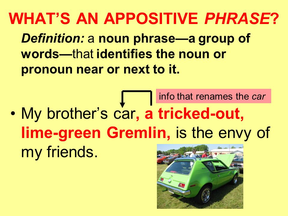 appositive definition and examples english grammar